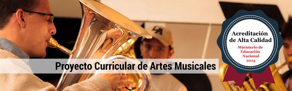 ACREDITACIÓN DE ALTA CALIDAD PARA EL PROYECTO CURRICULAR DE ARTES MUSICALES